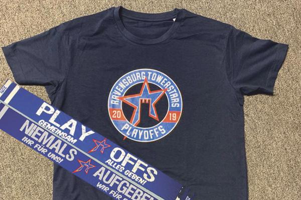 playoff shirt und schal