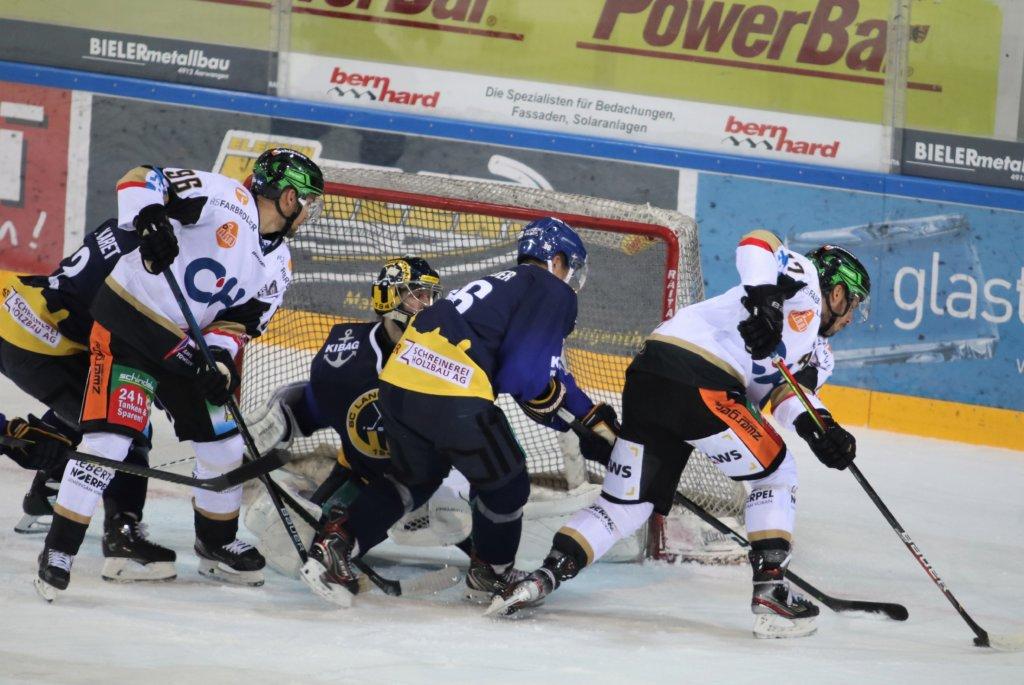 Starker Auftritt aller Mannschaftsteile - 5:2 Sieg in Langenthal. Bild: F.Enderle