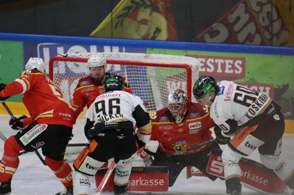David Zucker und Tero Koskiranta steuerten jeweils einen Treffer bei. Bild: F.Enderle