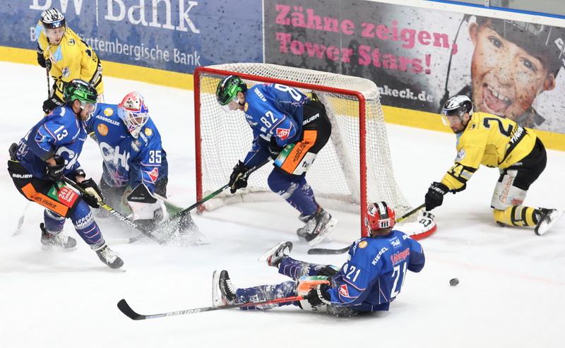 Niederlage gegen die Bayreuth Tigers. Bild: Sabine Ruetz