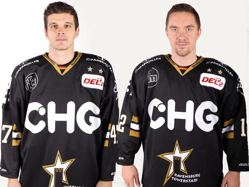 Fallen verletzungsbedingt aus: James Bettauer und Pawel Dronia.