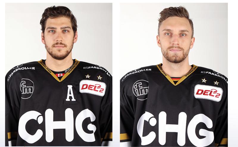 Olivier Hinse und Daniel Stiefenhofer. Bilder: Kim Enderle