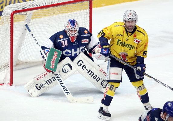 Jonas Langmann ist gegen Weißwasser wieder dabei.