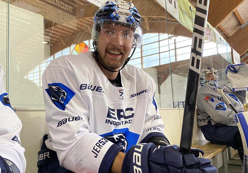 Fabian Dietz. Bild: ERC Ingolstadt