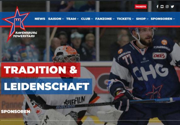 neue homepage screenshot