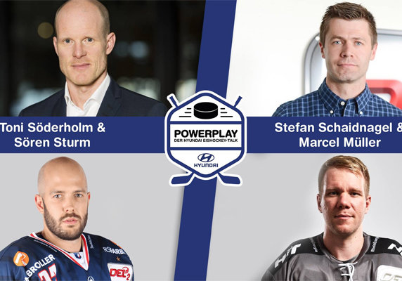 "Illu: ""Powerplay- Der Hyundai Eishockey Talk"""