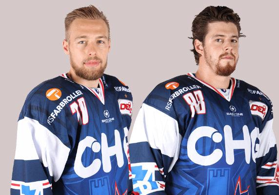 Daniel Schwamberger und Martin Kokes. Bilder. Kim Enderle